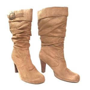 """Skechers """"Somethin' Else"""" Ruched  Slouch Boots"""